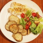 Baked Haddock with Feisty Fish Rub
