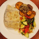 Broiled Striped Bass recipe