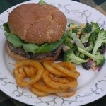 Jalapeno and Montery Jack Venison Burger