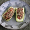 Venison Stuffed Zucchini Recipe