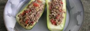 Venison Stuffed Zucchini Recipe